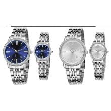Wasserdichtes Gold und Silber Farbe Diamond Watch