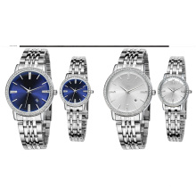 Water Resistant Gold and Silver Color Diamond Watch