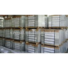 Superficie limpia cubierta de aluminio buena hoja de precios 3003