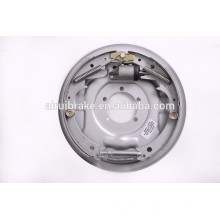 Freno de tambor hidráulico-freno de tambor hidráulico de 12 pulgadas para remolque de campista (tratamiento de superficie de la placa posterior: Dacromet)