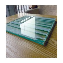 Wholesale 5+1.14pvb+5mm white silk screen printed tempered laminated glass for building glass