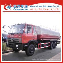 Dongfeng nuevo 20000liters aspersor de agua camión