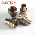 Brass Custom Machined Connector