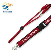 Cinturón de cuello de banda deportiva popular con cuerda elástica y hebilla