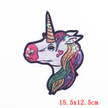 Cute Unicorn Iron on Embroidery Patches for Clothes