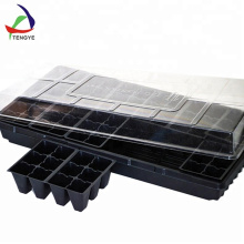 Environmental Propagator Plant Nursery PS Plastic Vegetable Seed Trays