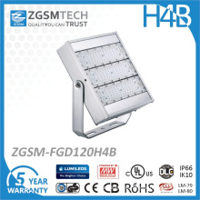 UL Dlc Listed 120W LED Floodlight for Square Stadium Lighting