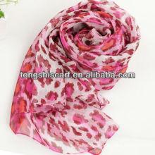 SD319-065 мода шелк напечатанный шарф