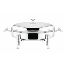 Classic Stainless Steel Food Warmer with Lid