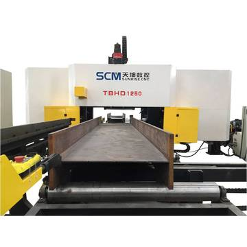 Mesin Beam CNC Drilling Channel