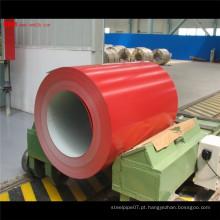 Bobinas de aço pré-pintadas galvanizadas a quente de alta qualidade em estoque China