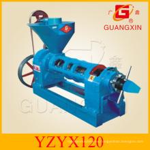 Máquina de prensa de aceite de soja Aceite de semilla de soja Expeller (YZYX 120)