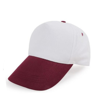 Man Polyester Twill Velcro Closure Promotional Cap
