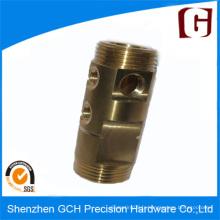 Usinage de pièces à vanne hydraulique usinée CNC OEM