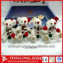 Pequeños y lindos juguetes baratos de peluche de Navidad