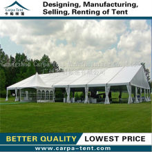 Factory price aluminium alloy strong and durable wedding tent/party tent/car tent for 200 people for sale