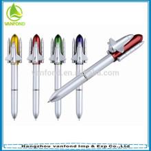 Boa qualidade foguete forma caneta esferográfica para promoção