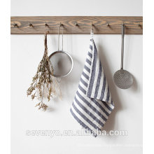 grey printing stripe pattern tea towel HT-064