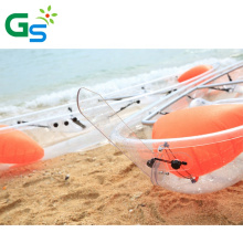 Cheap Plastic Drop Stitch Clear Kayak  Inflatable with Pedals