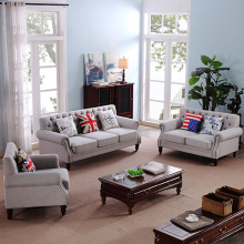 321 Kursi Pelapis Fabric Sofa Seater Chesterfield
