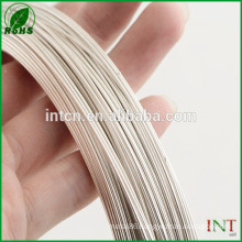 high performance electrical wire silver nickel wire