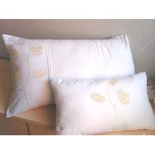 Tela tejida blanca lisa del 100% algodón 200T para el lecho