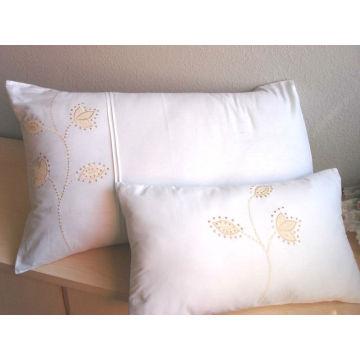 100% coton 200T tissu blanc uni pour la literie