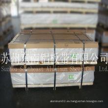 Precio de fábrica ! Aleación 8011 O hojas de aluminio para tapones