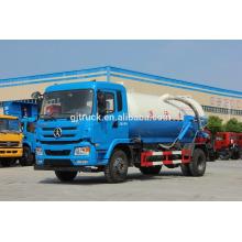 Camión de succión de aguas residuales Dayun 4X2 para 12 metros cúbicos