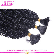 100% cabelo humano 6a afro kinky curly hair volume original brasileira