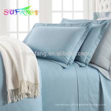 100% PIMA algodão macio de alta qualidade conjunto de cama