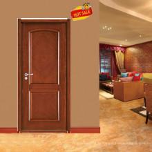Porte de bois de rose bois solide conception populaire E-S025