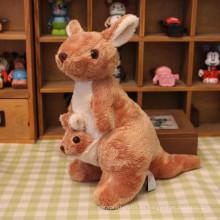 ICTI factry personalizado bebé al por mayor peluche canguro juguete