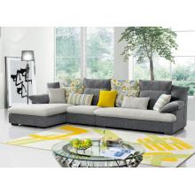 Beliebte Stoff Ecksofa Moderne Wohnzimmer Möbel