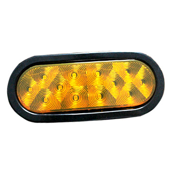 "Wasserdichte 6 ""Oval DOT Trailer Turn Lights"