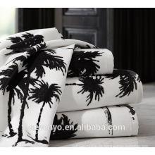 Venta caliente Coconut Tree Jacquard toalla de baño BtT-015 al por mayor