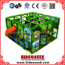 Jungle Style Small Children Favourite Indoor Soft Playground for Sale