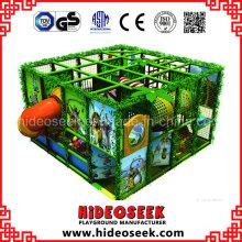 Campo de jogos macio interno favorito pequeno das crianças do estilo da selva para a venda