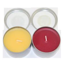 Set de regalo velas perfumadas caja de lata