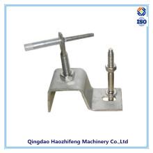 Chapa metálica que carimba o suporte de aço inoxidável para o revestimento de pedra