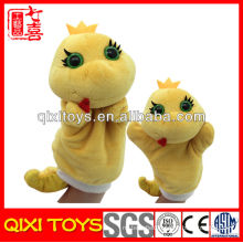 Soft realistic plush snake hand puppet making hand puppet