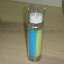 80ml Two Tube Cosmetic Lotion Press Bottle