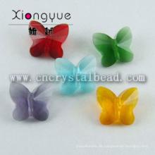 Schmetterlings-Form Kristallglas Schmuck Perlen Großhandel