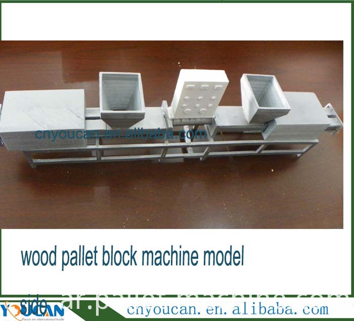 wood block machine model