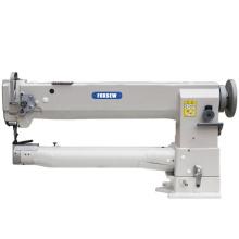 Lange Arm-einzelne Nadel-Mischfutter-gehender Fuß-Zylinder-Bett-Leder-Nähmaschine