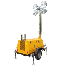 Industrial Portable Light Tower with LED Lamps