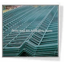 pvc coated welded wire panel(factory)