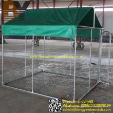 Große Hundehütten-Hundezwinger-Hundekäfig