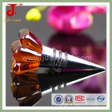 Bujão de garrafa de vinho de cristal para presentes de Takeaway do convidado do casamento