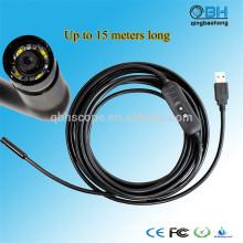 15M Impermeável Digital Esgoto USB tubulação impermeável câmera de inspeção de encanamento